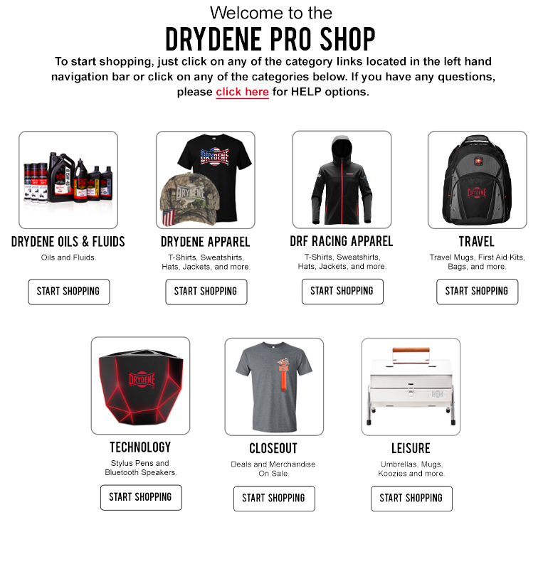 Welcome to the Drydene Pro Shop